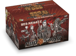 Kulki paintballowe ProShar Red Menace